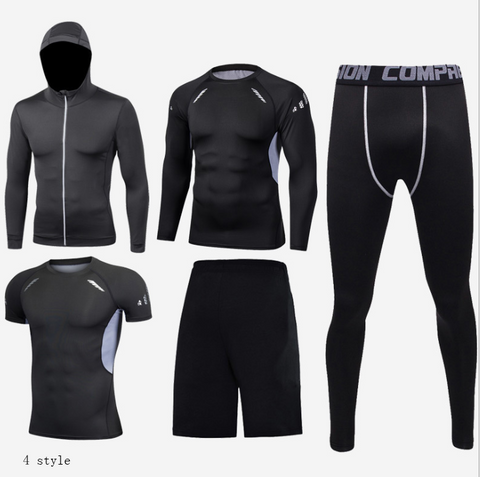 5 piece Compression Tight Set