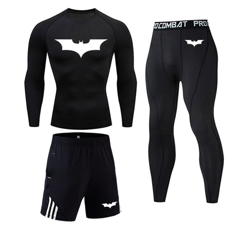 Men's Batman Compression Workout Gear