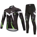 Men's Winter Cycling Jersey & Non Bib Tight Set
