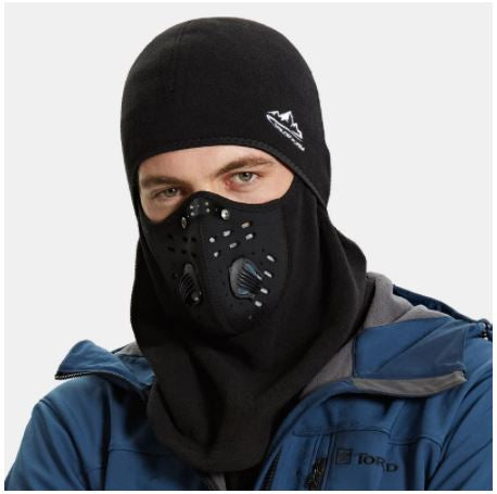 Thermal Fleece Full Face Protection Cycling  Mask