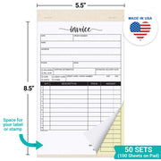 Invoice Book, Carbonless
