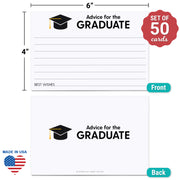 Advice for the Graduate Cards - White