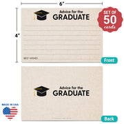 Advice for the Graduate Cards - Tan