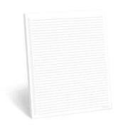 To Do List Notepad - 8.5x11 - Plain