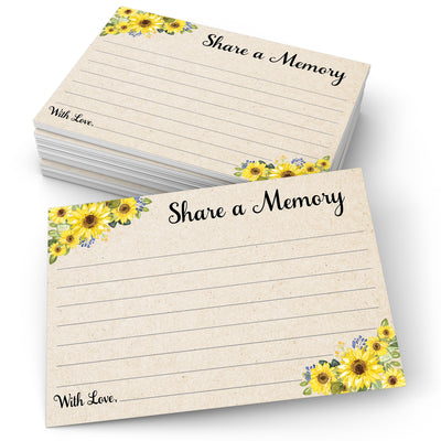 Share a Memory - Sunflower, Tan