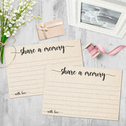 Share a Memory - Simple Script, Tan