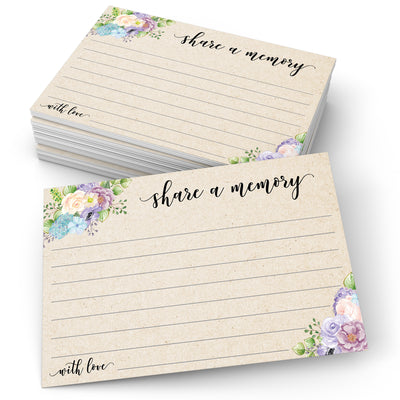 Share a Memory - Floral Pastel, Tan