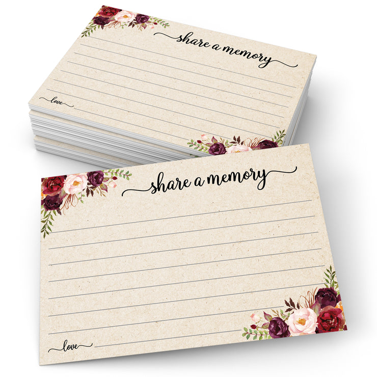 Share a Memory - Red Roses, Tan
