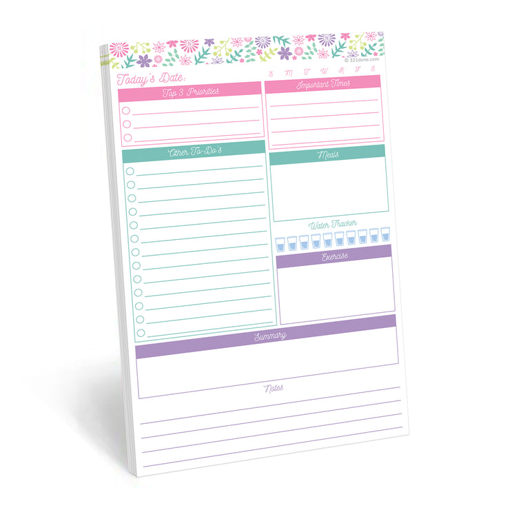 Daily Plan Notepad