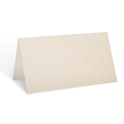 Blank Place Cards - 3.5x2 - Tan