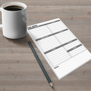 Weekly Checklist Notepad