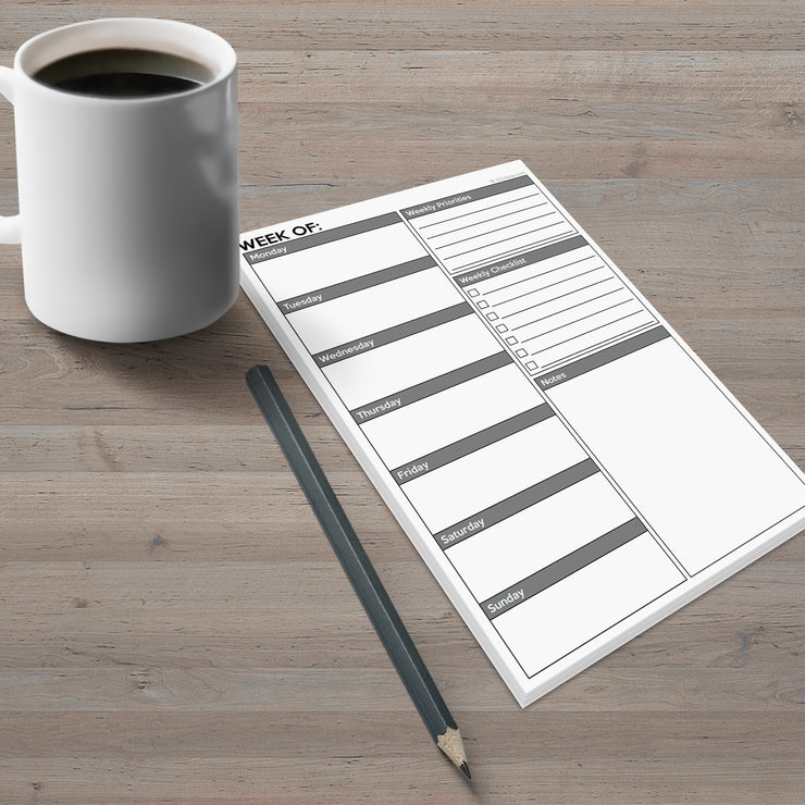 Weekly Plan Notepad