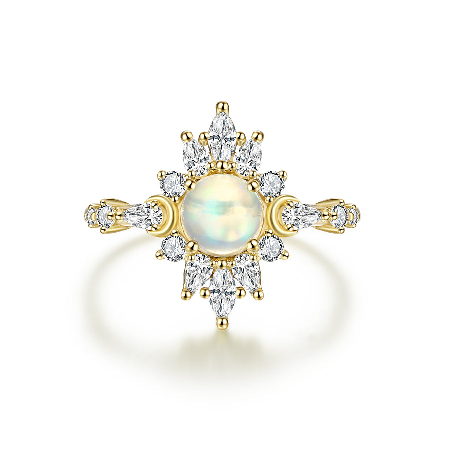 Charlotte Ring - Opal