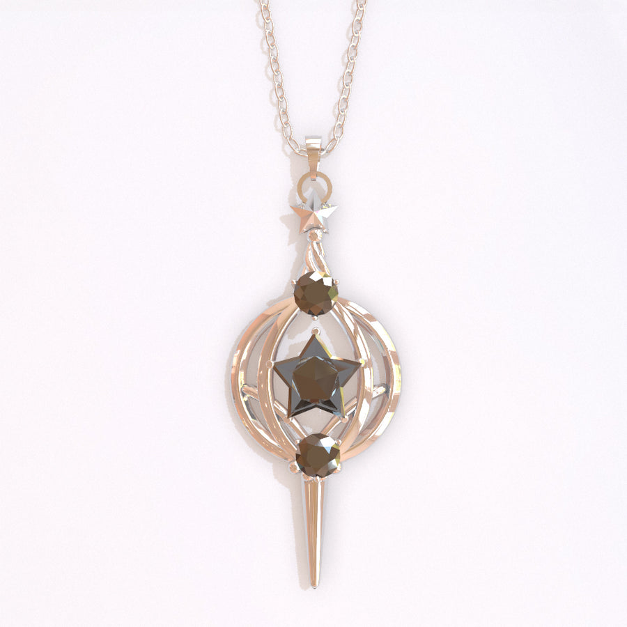 PRE-ORDER: Grief Seed Pendant Necklace