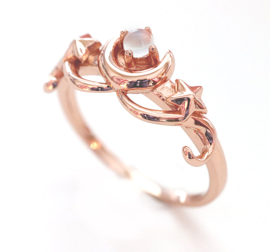 Luna Ring (Rose Gold)