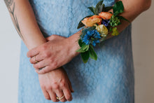 Load image into Gallery viewer, Majorelle Wrist Corsage