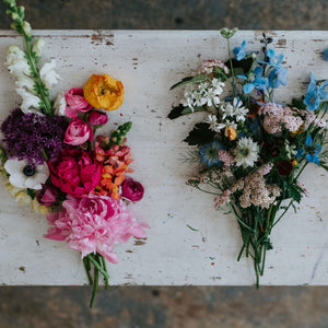 January Materials - Flower Arranging Basics