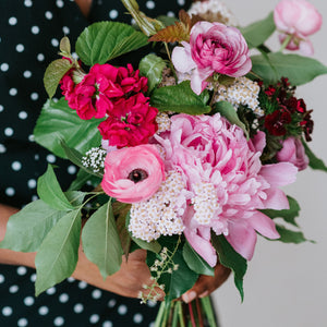 June Materials - Hand-Held Bouquet