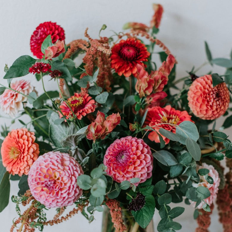 October Materials - Designing with Fall Flowers