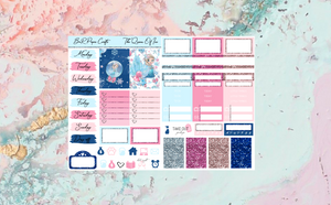 The queen of Ice Micro kit | EC Planner Stickers