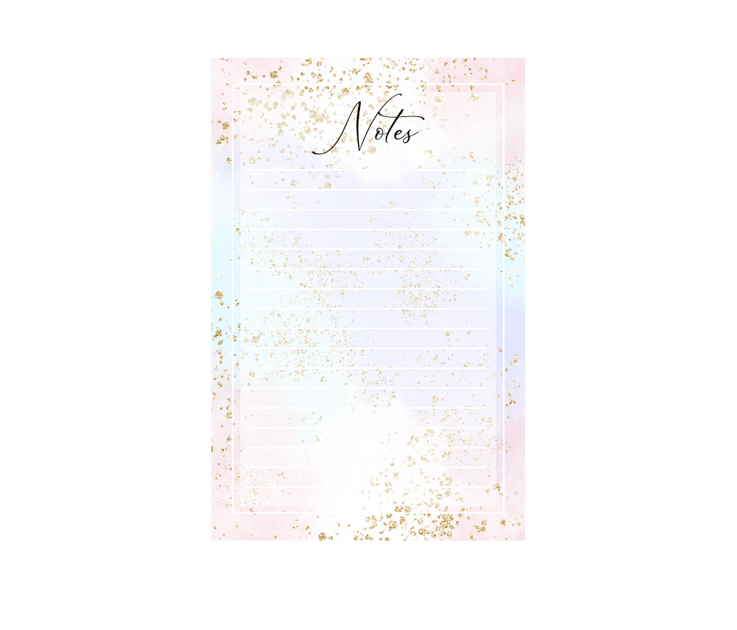 Notepad | EC Planner Stickers | Notepad