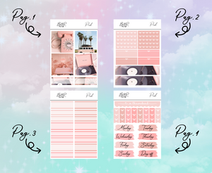 PP Weeks kit | EC Planner Stickers