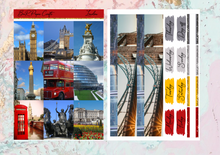 Load image into Gallery viewer, London Deluxe kit | EC Planner Stickers