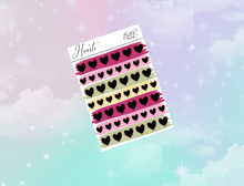 Load image into Gallery viewer, PP weeks add on | Foil Planner Stickers| EC Planner Stickers
