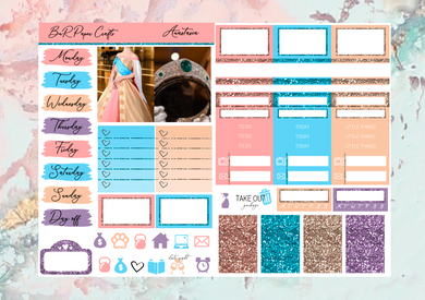 Anastasia Micro kit | Standard Vertical Planner Stickers