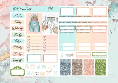 Bloom Micro kit | Standard Vertical Planner Stickers