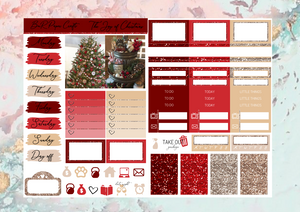 The joy of Christmas Micro kit | EC Planner Stickers