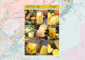 US RTS Pineapple Deluxe kit | EC Planner Stickers