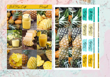Load image into Gallery viewer, US RTS Pineapple Deluxe kit | EC Planner Stickers