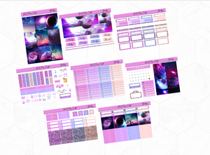 Galaxy Deluxe kit | EC Planner Stickers