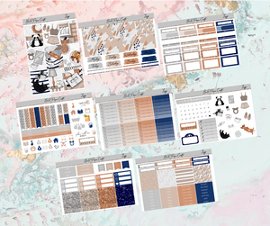 Lazy Deluxe kit | EC Planner Stickers