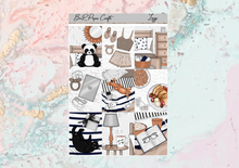 Load image into Gallery viewer, Lazy Mini kit | EC Planner Stickers