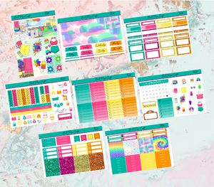 Fiesta Deluxe kit | EC Planner Stickers