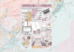 Work from home Mini kit | EC Planner Stickers