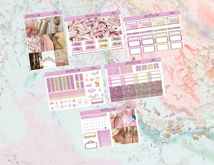 Aurora Mini kit | Standard Vertical Planner Stickers