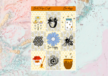 Load image into Gallery viewer, Bee happy Deluxe kit | Standard Vertical Planner Stickers