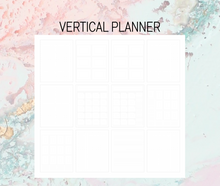 Load image into Gallery viewer, Vertical Plan B Planner | Foil Planner Stickers | Standard planner