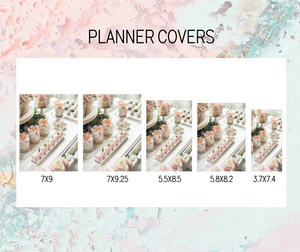 Extra cover Plan B Planner | Foil Planner Stickers | EC PLANNER