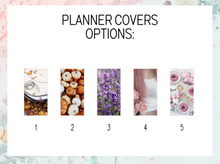 Load image into Gallery viewer, Recipe book Plan B Planner | Foil Planner Stickers | Standard vertical planner