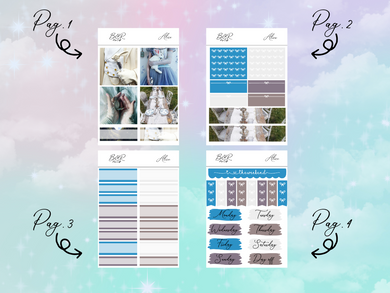Alice PP Weeks kit | EC Planner Stickers