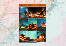 Load image into Gallery viewer, Spooky Deluxe kit | Standard Vertical Planner Stickers