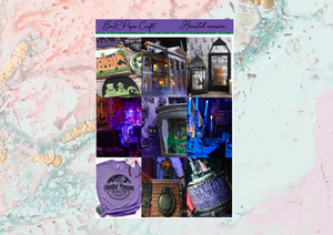 Haunted Mansion Mini kit | Standard Vertical Planner Stickers