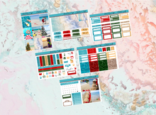 Load image into Gallery viewer, Christmas in July Mini kit | Standard Vertical Planner Stickers