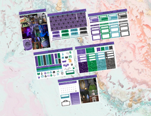Load image into Gallery viewer, Haunted Mansion Mini kit | Standard Vertical Planner Stickers