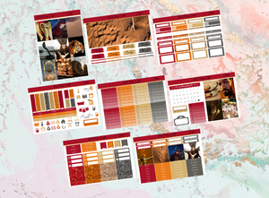 Jafar Deluxe kit | Standard Vertical Planner Stickers
