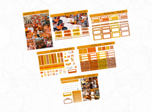 Load image into Gallery viewer, Pumpkin spice Mini kit | Standard Vertical Planner Stickers